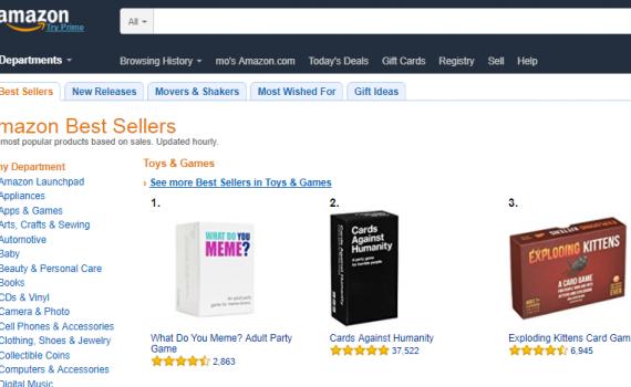 amazon best sellers افضل الباعة في امازون