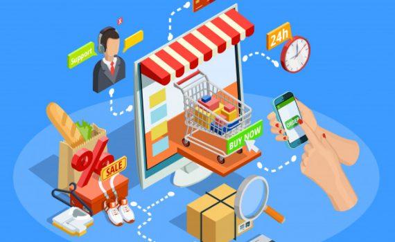 تسويق المنتجات عبر الإنترنت